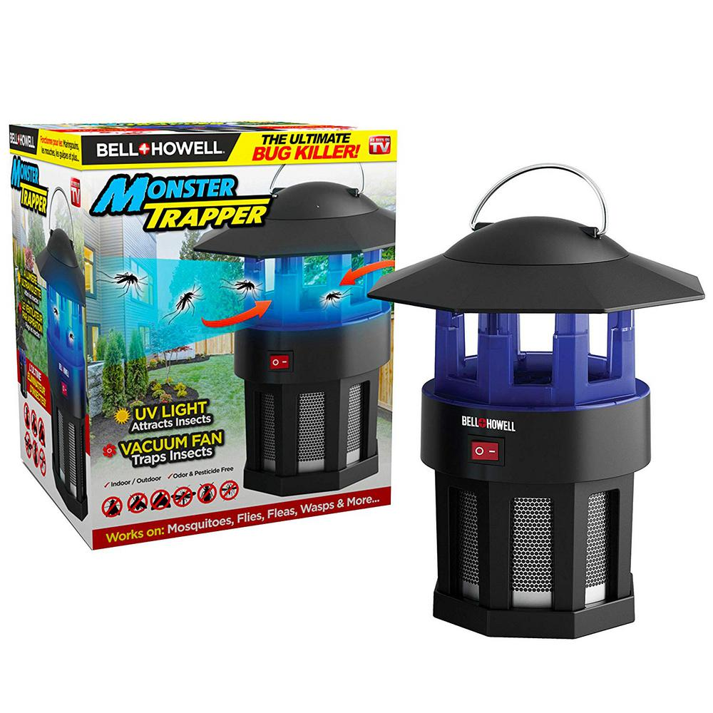 Bell + Howell 120 Volt High Performance Electric Indoor and Outdoor Monster Bug Trapper