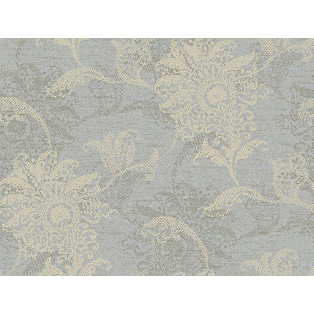 York Wallcoverings 60.75 sq. ft. Layered Jacobean Floral Wallpaper