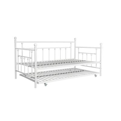 Mia White Twin Daybed and Trundle Set