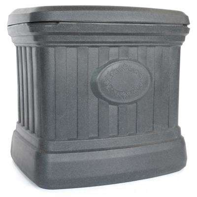 5 cu. ft. Residential Sand and Salt Storage Bin in Granite Grey
