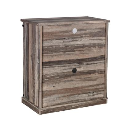 31.5 in. Aged Wood TV Stand (Fits TVs Up To 40 in.)