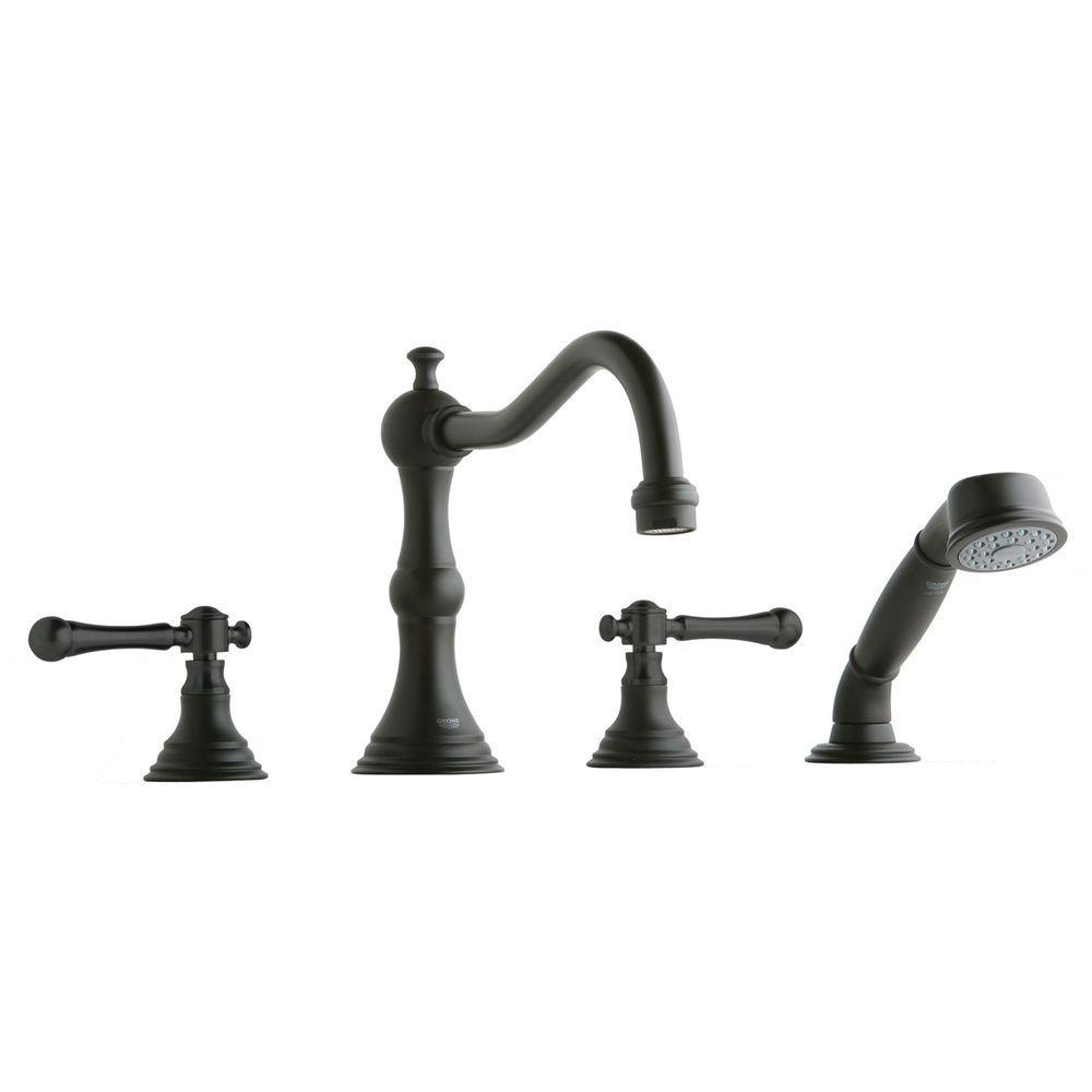 Bridgeford 2-Handle Roman Tub Faucet in Oil Rubbed Bronze