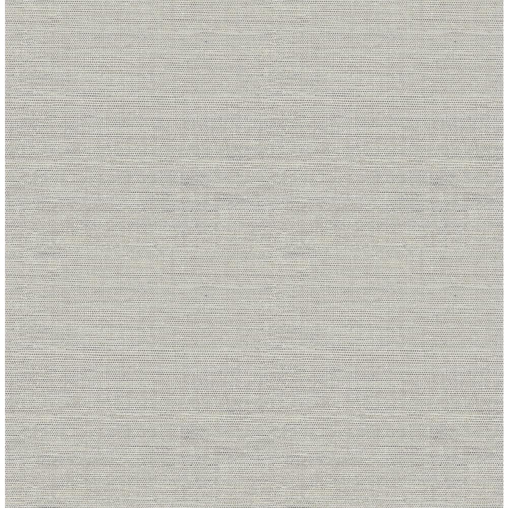 56.4 sq. ft. Bluestem Dove Faux Grasscloth Wallpaper