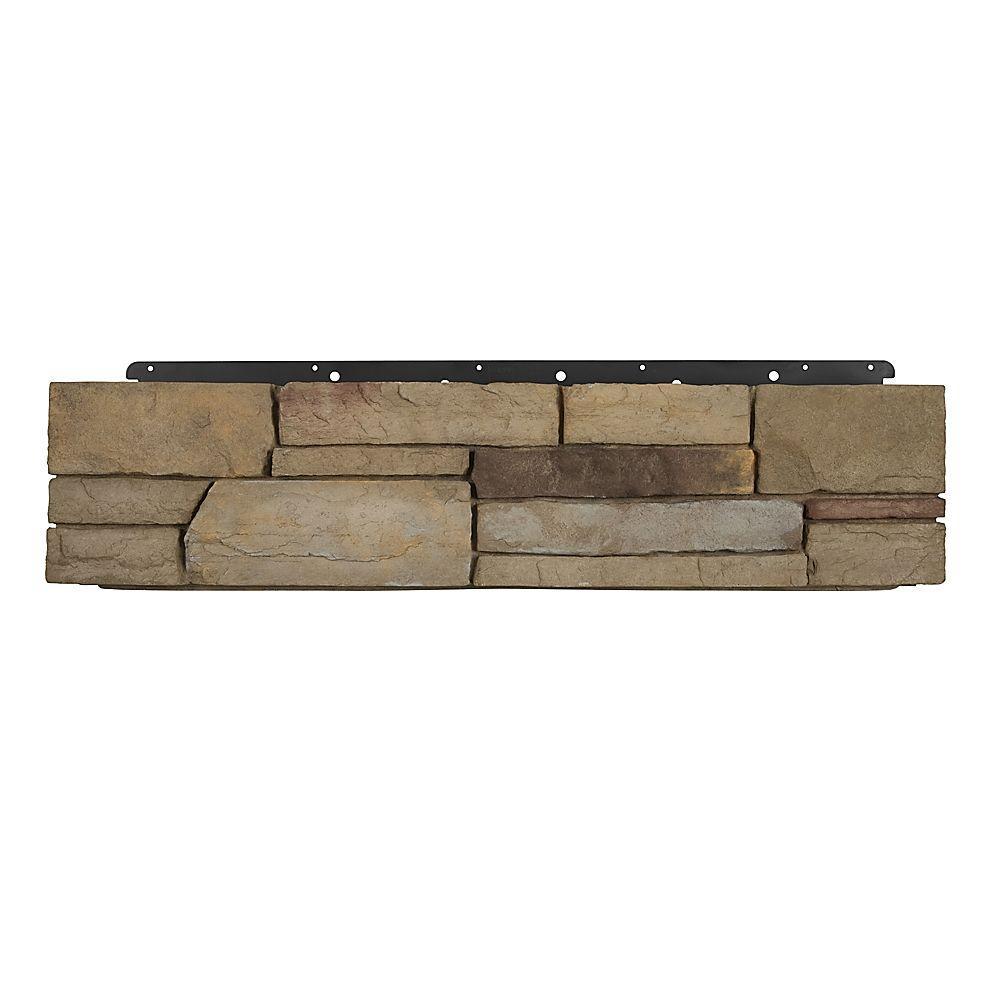 8 in. x 36 in. Versetta Stone Corner Ledgestone Plum Creek Siding (6-Bundles per Case)