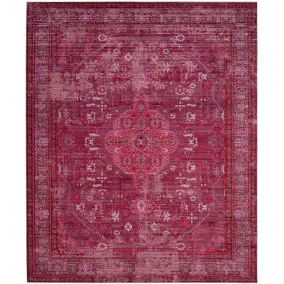 Valencia Red/Multi 8 ft. x 10 ft. Area Rug
