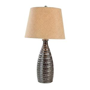 Click here to buy Bel Air Lighting 27 inch Rubbed Oil Bronze Table Lamp with Stamped Resin Base by Bel Air Lighting.