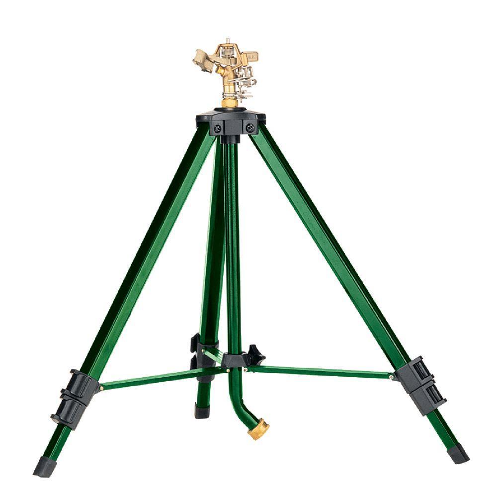 80 sq. ft. Brass Impact Sprinkler