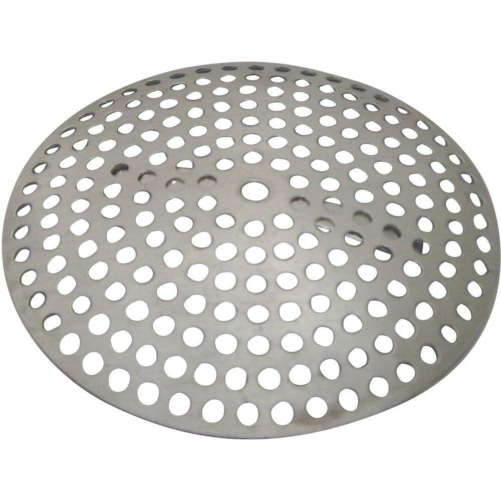 Partsmasterpro Metal Clip Style Shower Drain Cover