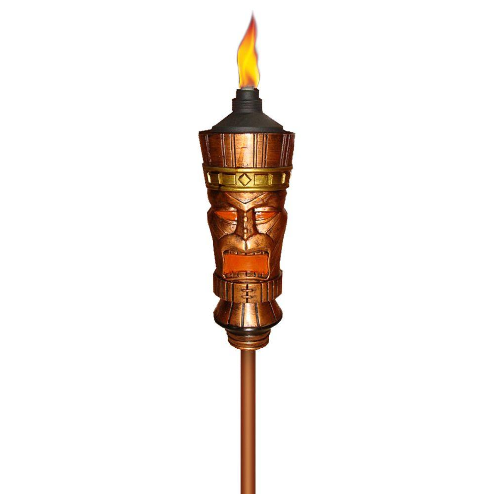 4 In H X 4 In D King Tiki Torch 1111200 The Home Depot