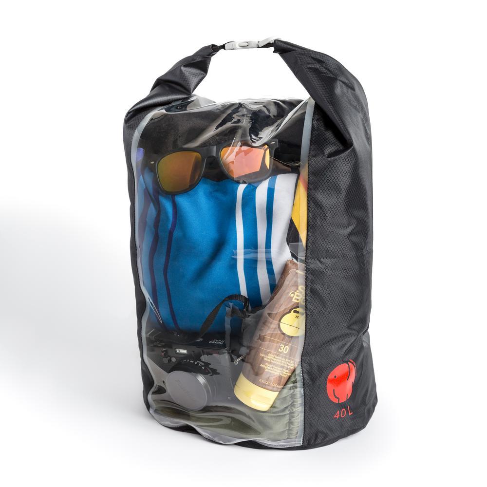 OmniCore Designs Peak-A-Boo Floating Rolltop Waterproof Dry Bag 4-Piece Value Bundle (10 l, 20 l, 30 l, 40 l)