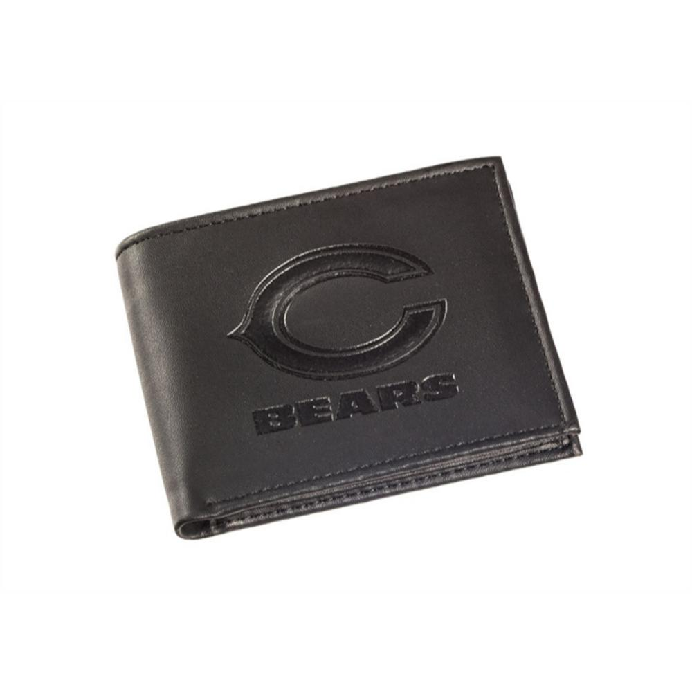 bf5d2a82caa7ce Team Sports America Chicago Bears NFL Leather Bi-Fold Wallet ...