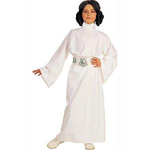 Star Wars Small Girls Deluxe Princess Leia Kids Costume