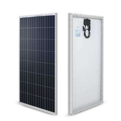 100-Watt 12-Volt Monocrystalline Solar Panel (New Edition) for RV Boat Back-Up System Off-Grid Application