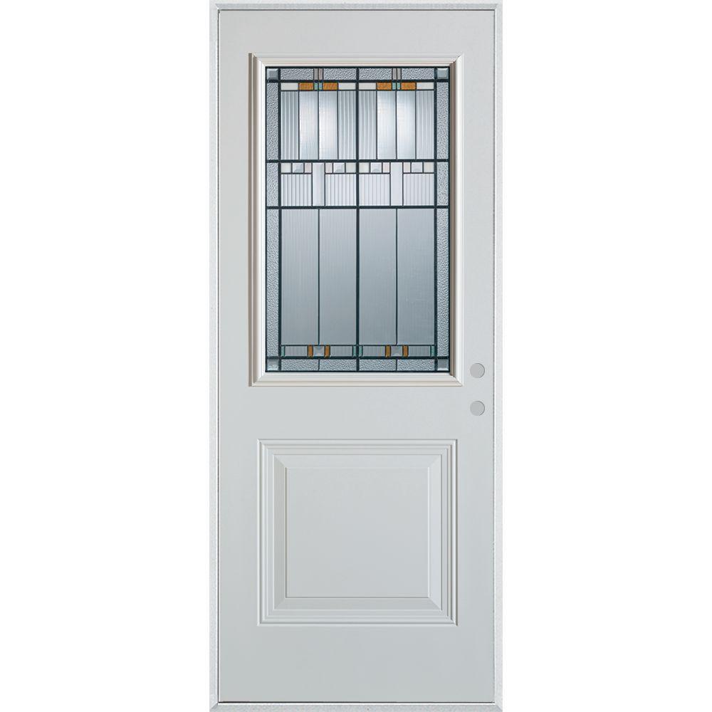 Stanley Doors 37375 In X 82375 In Architectural 12 Lite 1 Panel