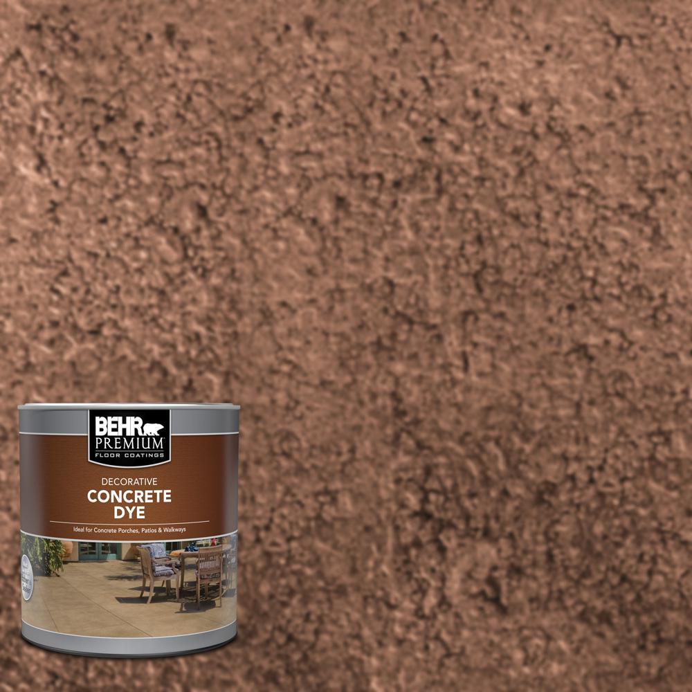BEHR Premium 1 qt. #CD-811 Dried Cranberry Interior/Exterior Concrete Dye
