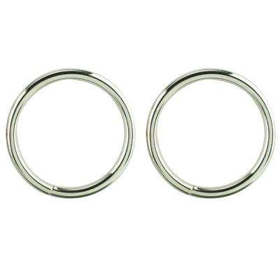 1/4 in. x 2 in. Nickel Plated Ring