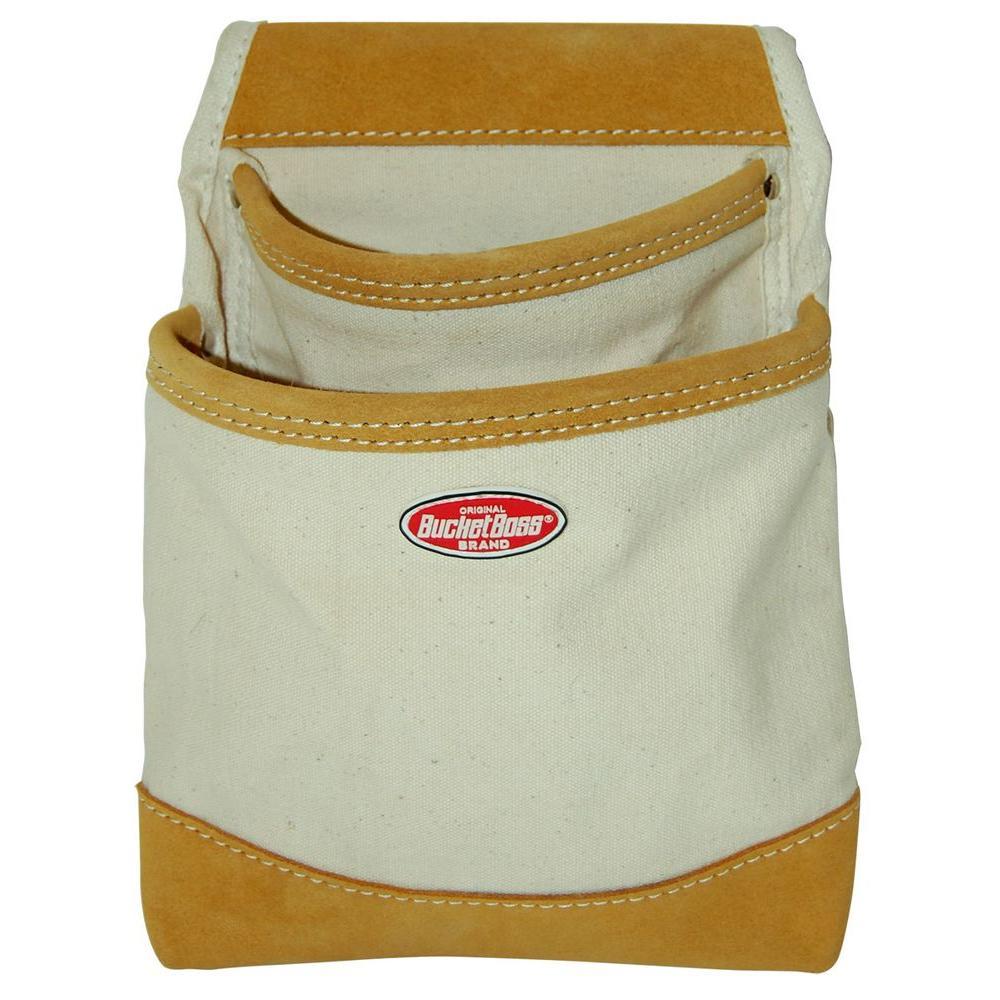 Bucket Boss Canvas 2 Pocket Dry Wall Bag