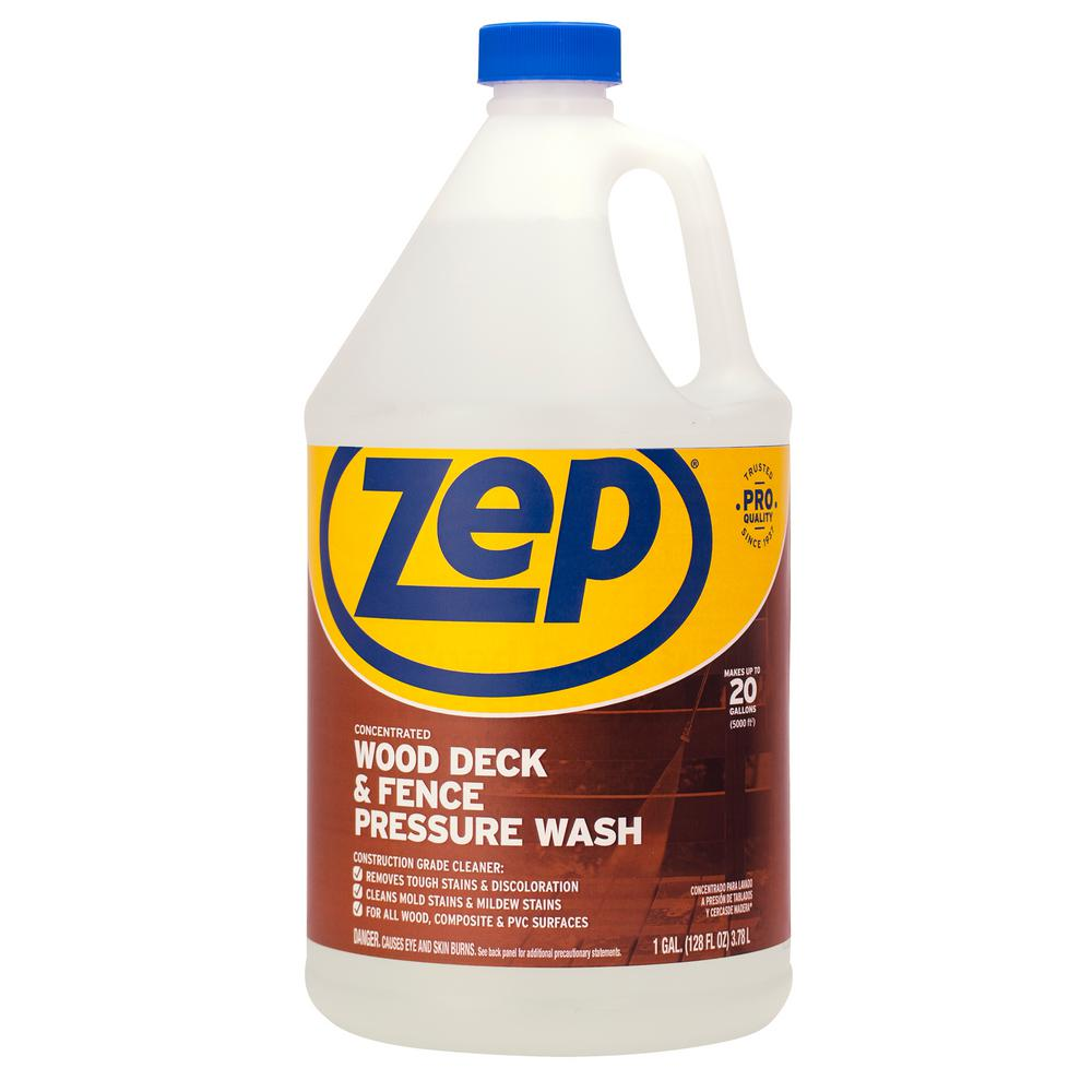 ZEP 1 Gallon Deck and Fence Cleaner