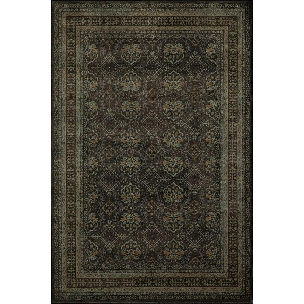 Momeni Encore Charcoal 3 ft. 11 in. x 5 ft. 11 in. Indoor Area Rug