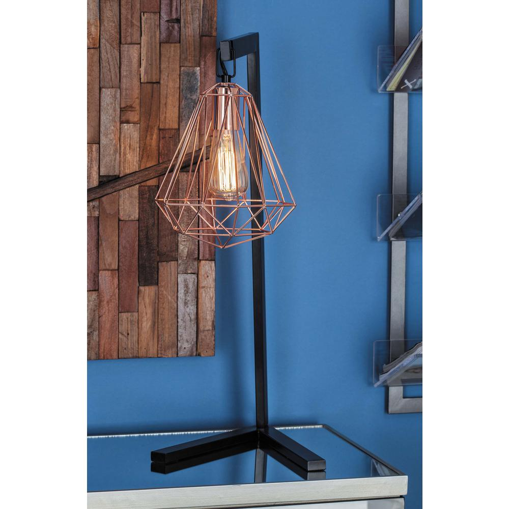 26 in modern iron wire pear table lamp in white 58686 the home depot modern iron wire pear table lamp in white 58686 the home depot keyboard keysfo Choice Image