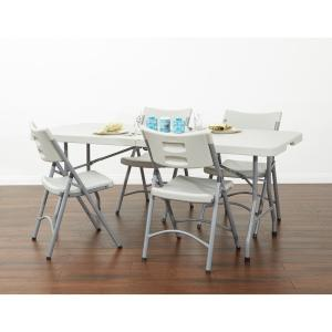 Office Star Products 6 Ft Light Grey Resin Multi Purpose