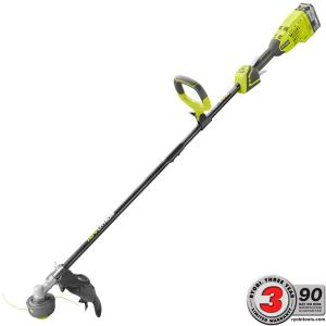 Ryobi ONE+ 18-Volt Lithium-Ion Brushless Cordless String Trimmer - 4.0 Ah Battery and Charger Included by Ryobi