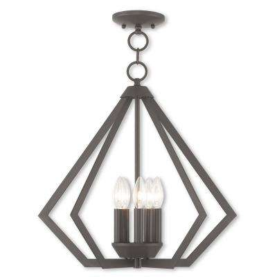 Prism 5-Light Bronze Chandelier