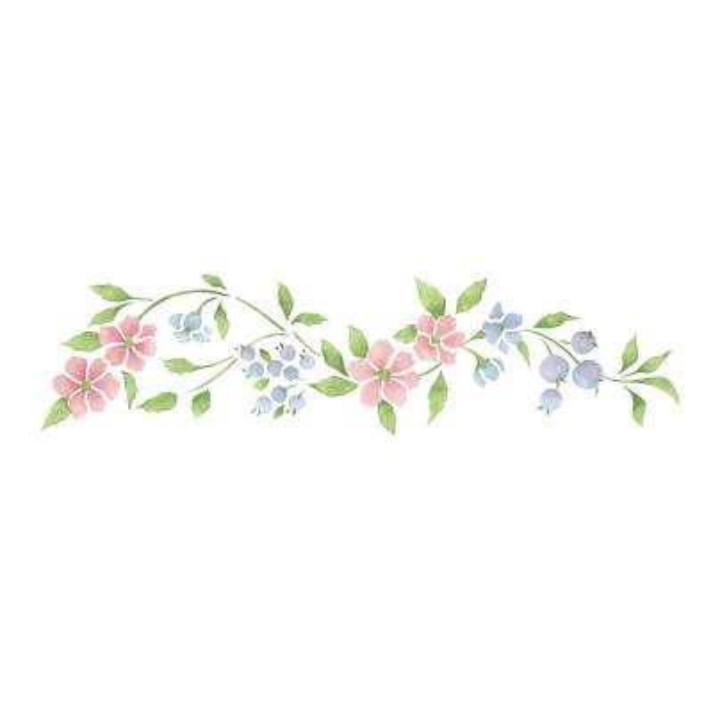 Apple Blossom Wall Stencil