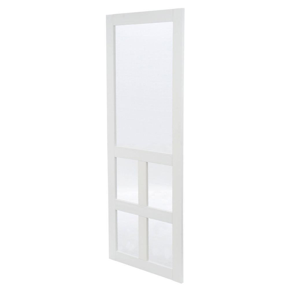 Hinged Screen Doors Exterior Doors The Home Depot