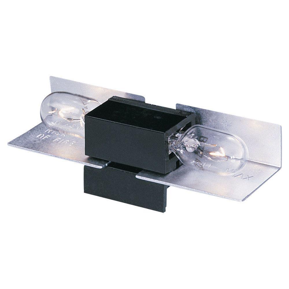 Sea Gull Lighting 2 5 In W Black Lx Wedge Base Lampholder