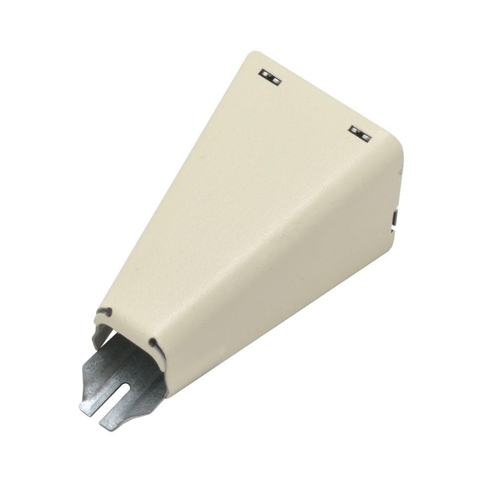 500 Series Metal Surface Raceway 1/2 in. Combination Connector, Ivory