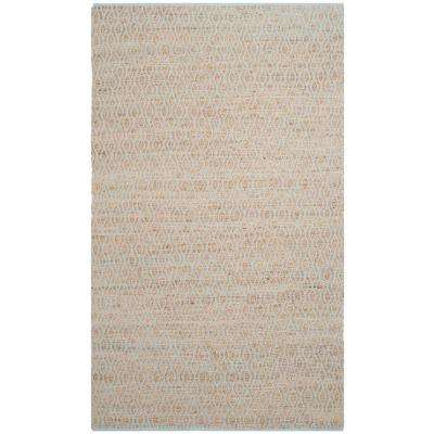 Cape Cod Silver/Natural 6 ft. x 9 ft. Area Rug