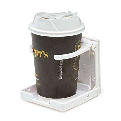 Adjustable White Drink Holder