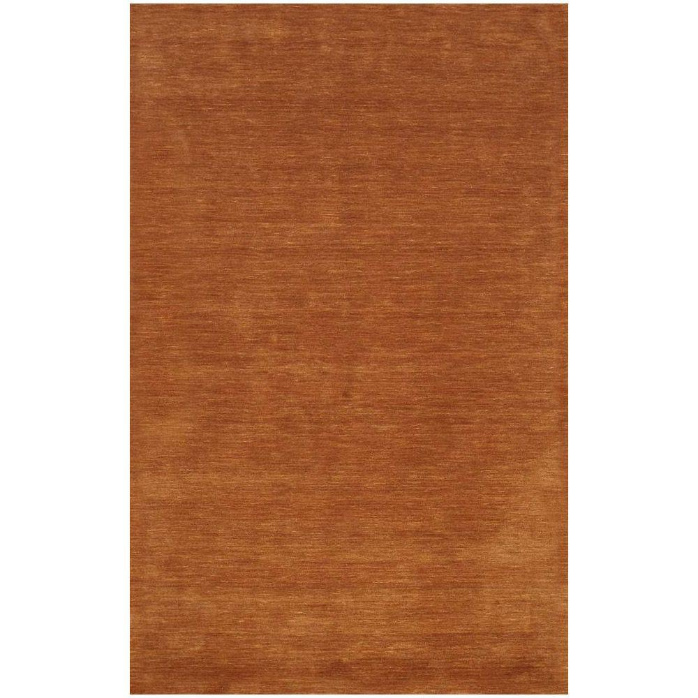 BASHIAN Contempo Collection Rust Ombre Rust 7 ft. 6 in. x 9 ft. 6 in. Area Rug