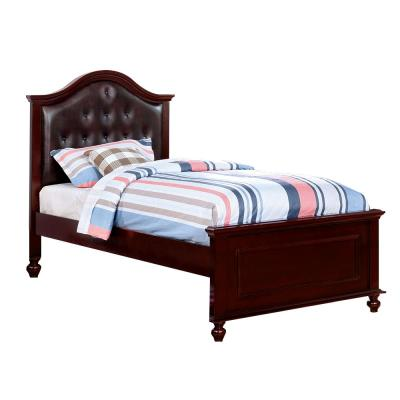 Olivia in Dark Walnut Full Bed