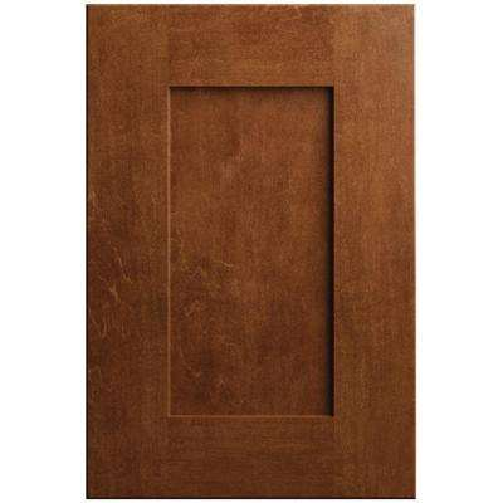 11x15 in. Clay Cabinet Door Sample in Paprika