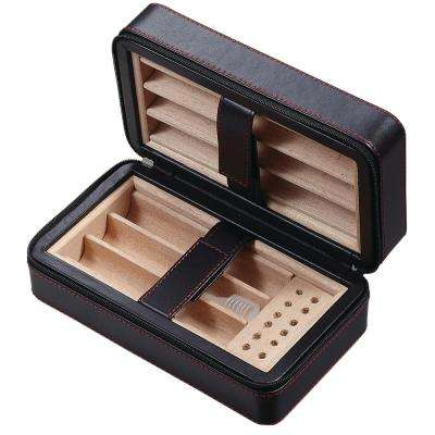 Eden Travel Cigar Humidor Leatherette