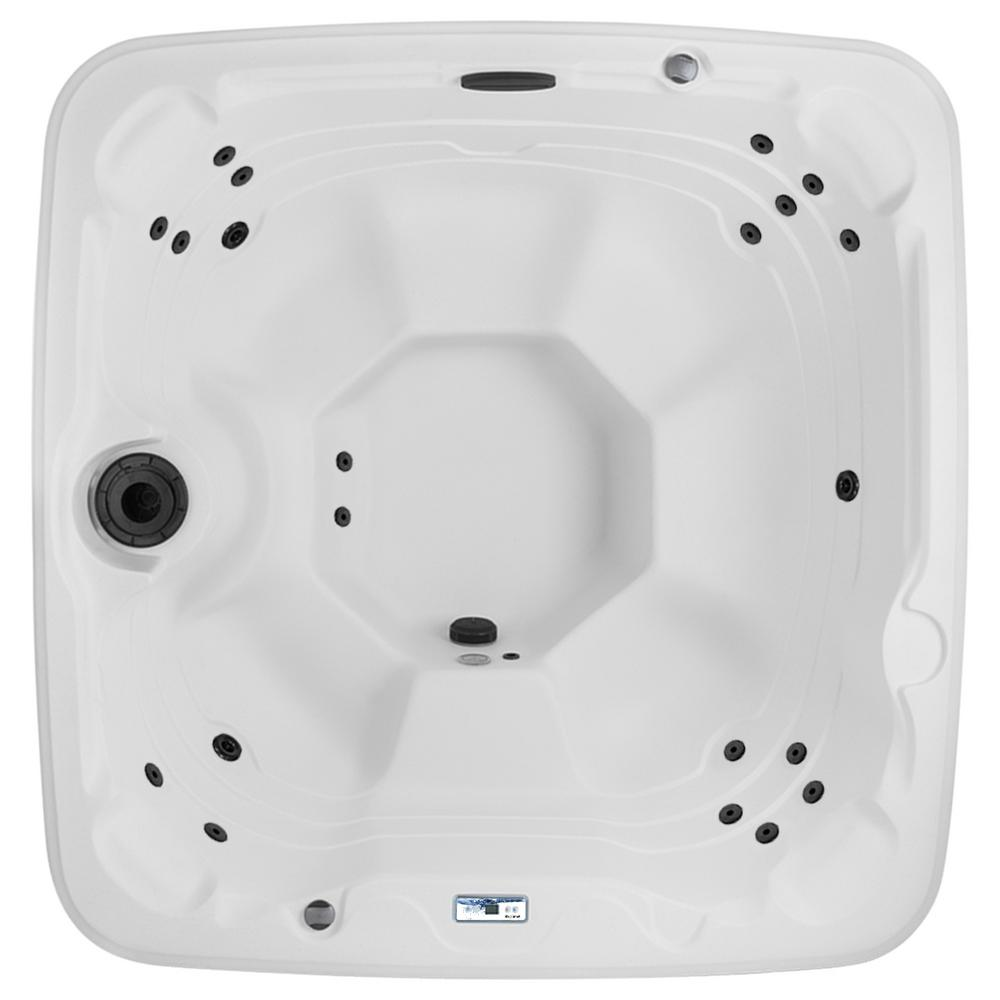Lifesmart Barbados DLX 7-Person Hot Tub Spa with Upgraded 23-Jet Package Includes Free Energy Savings Value Package and Delivery