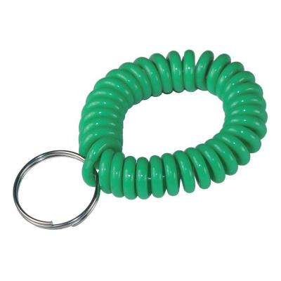 Neon Wrist Coil with Ring (5-Pack)