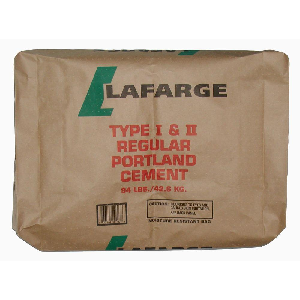 Using Portland Cement : Lafarge lb type i ii portland cement the