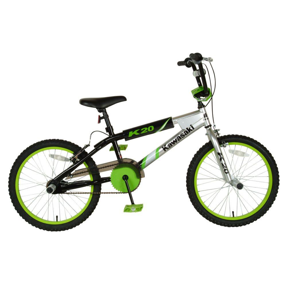 Kawasaki BMX Kid\'s Bike, 20 in. Wheels, 11.25 in. Frame, Boy\'s Bike ...