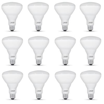 65-Watt Equivalent BR30 Dimmable CEC Title 20 Compliant LED ENERGY STAR 90+ CRI Flood Light Bulb, Daylight (12-Pack)