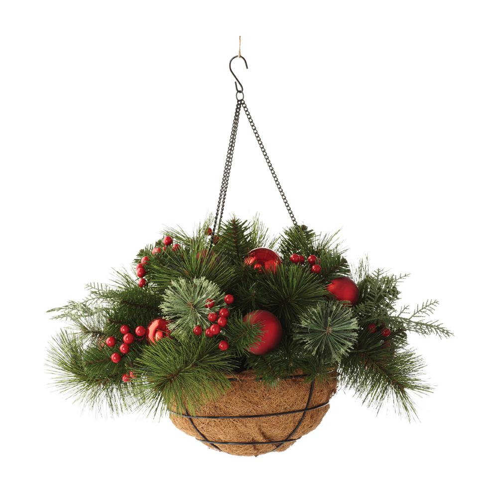 Hanging Flower Baskets Home Depot Canada : Hanging plants indoors home depot in downswept douglas