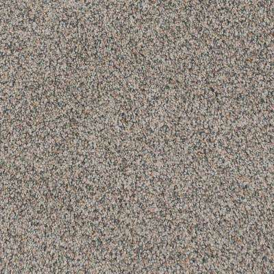 Carpet Sample - Serendipity II - Color Toffee Bliss Texture 8 in. x 8 in.