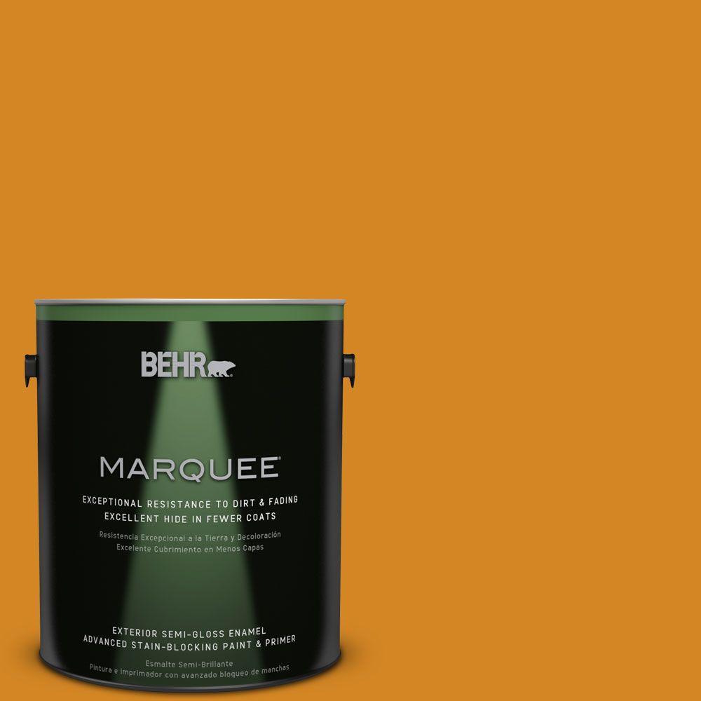 BEHR MARQUEE 1-gal. #S-H-300 Opulent Semi-Gloss Enamel Exterior Paint