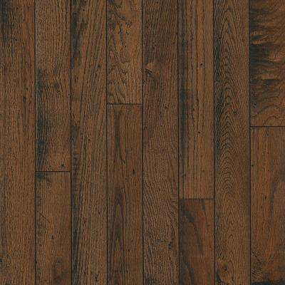 Take Home Sample - Oak Sleeping Bear Solid Hardwood Flooring - 5 in. x 7 in.