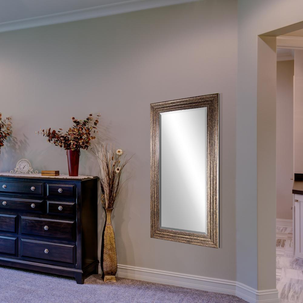 Crystal art gallery everett rectangular bronze vanity for Mirror gallery wall