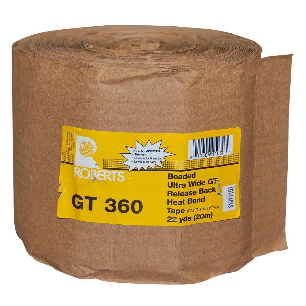 Roberts 50-360, 6 in. Ultra Wide Heat Bond Carpet Seaming Tape-DISCONTINUED