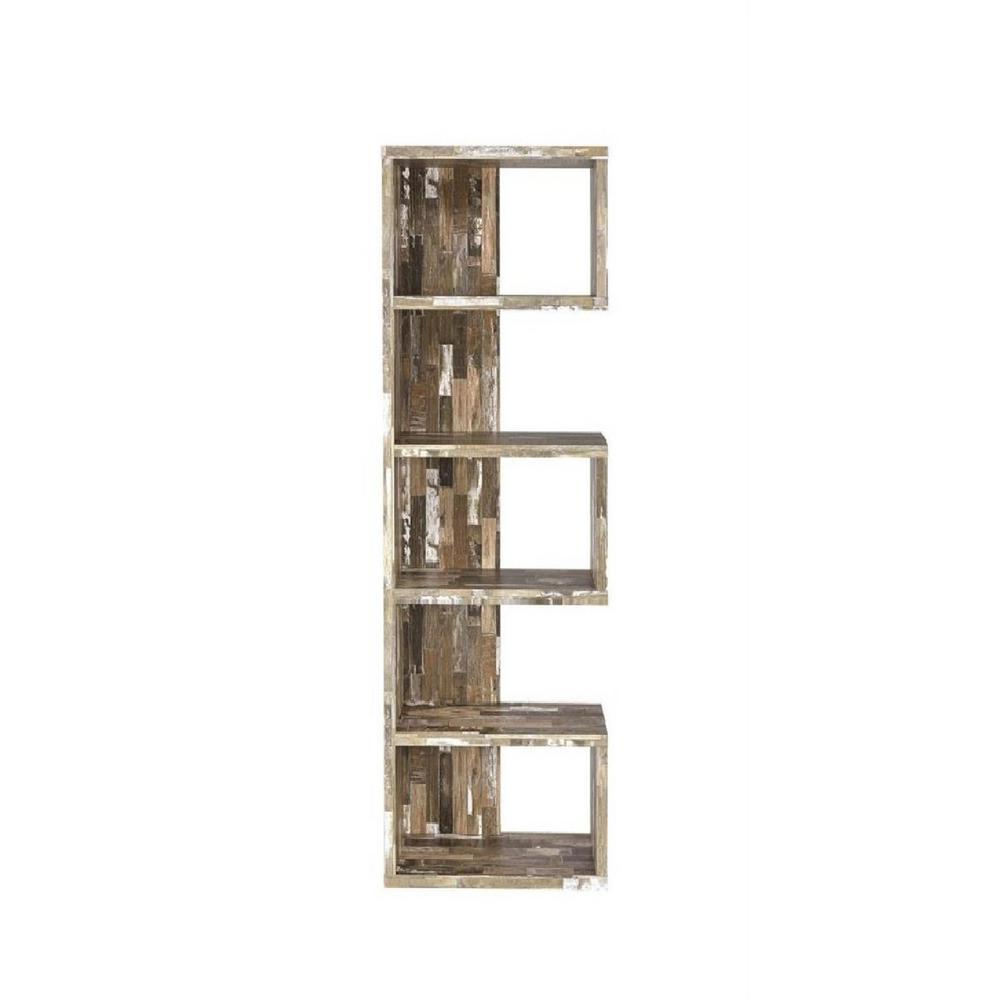 5-Shelf Bookcase Salvaged Cabin