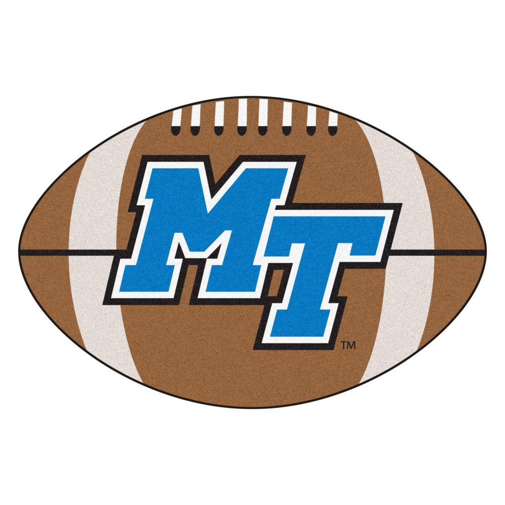 FANMATS NCAA Middle Tennessee State University Brown 1 ft ...